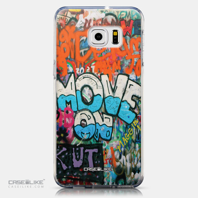 CASEiLIKE Samsung Galaxy S6 Edge Plus back cover Graffiti 2722