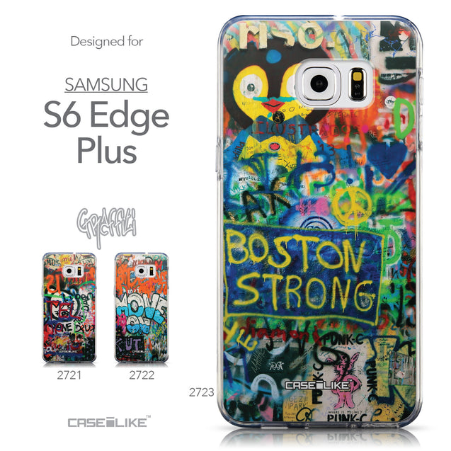 Collection - CASEiLIKE Samsung Galaxy S6 Edge Plus back cover Graffiti 2723