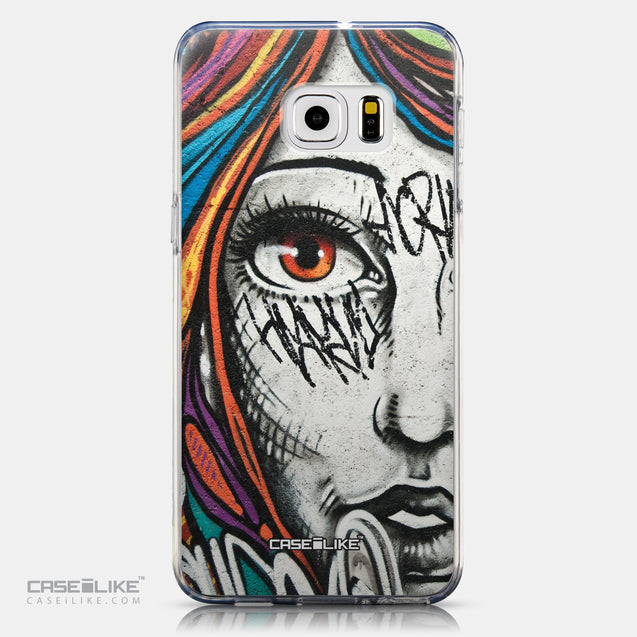 CASEiLIKE Samsung Galaxy S6 Edge Plus back cover Graffiti Girl 2724