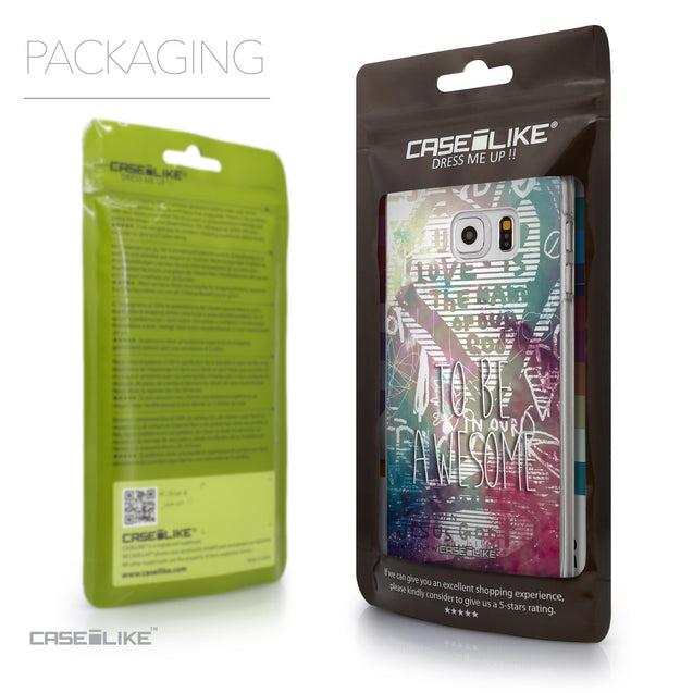 Packaging - CASEiLIKE Samsung Galaxy S6 Edge Plus back cover Graffiti 2726