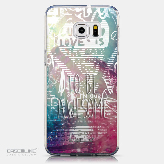 CASEiLIKE Samsung Galaxy S6 Edge Plus back cover Graffiti 2726