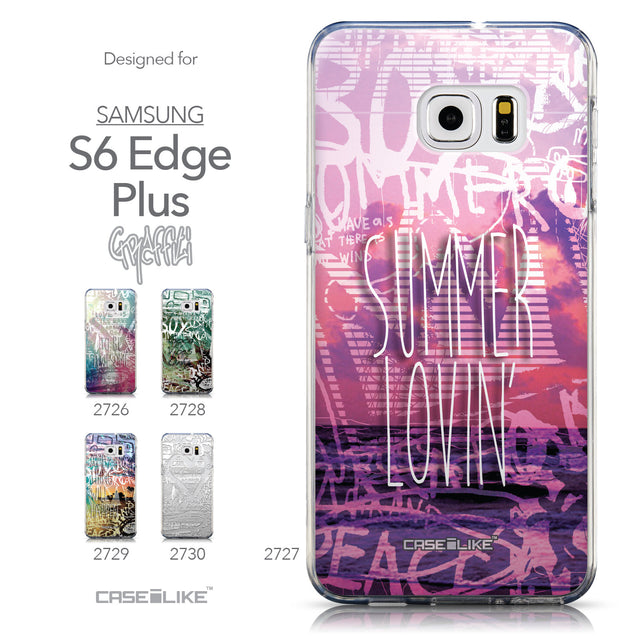 Collection - CASEiLIKE Samsung Galaxy S6 Edge Plus back cover Graffiti 2727