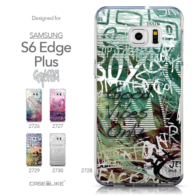 Collection - CASEiLIKE Samsung Galaxy S6 Edge Plus back cover Graffiti 2728