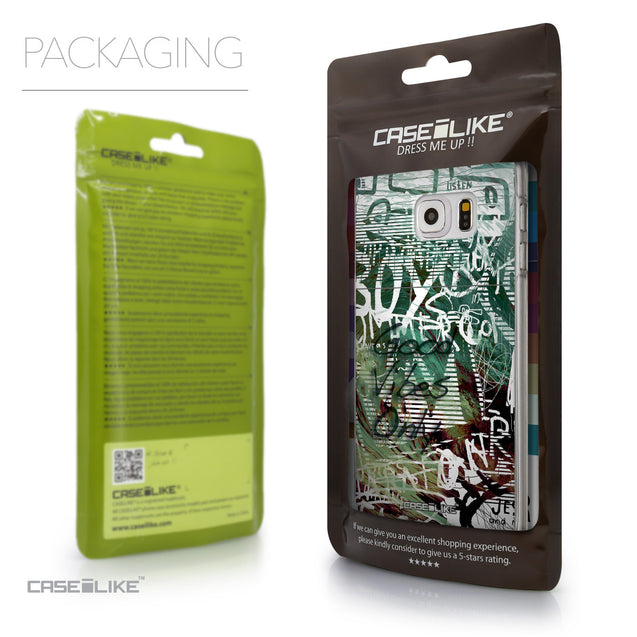 Packaging - CASEiLIKE Samsung Galaxy S6 Edge Plus back cover Graffiti 2728