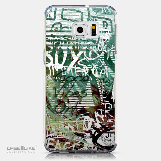 CASEiLIKE Samsung Galaxy S6 Edge Plus back cover Graffiti 2728