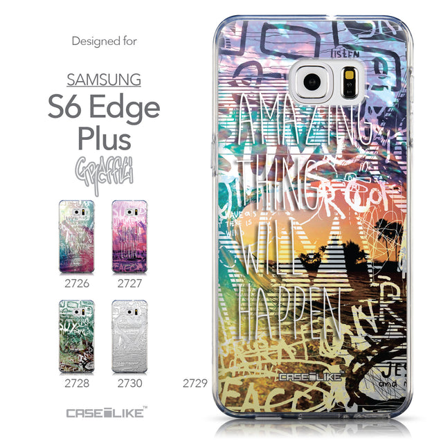Collection - CASEiLIKE Samsung Galaxy S6 Edge Plus back cover Graffiti 2729