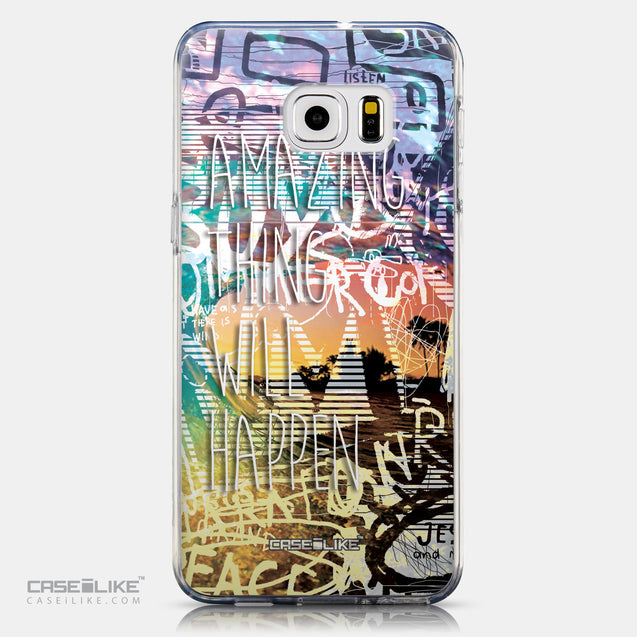 CASEiLIKE Samsung Galaxy S6 Edge Plus back cover Graffiti 2729