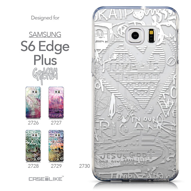 Collection - CASEiLIKE Samsung Galaxy S6 Edge Plus back cover Graffiti 2730