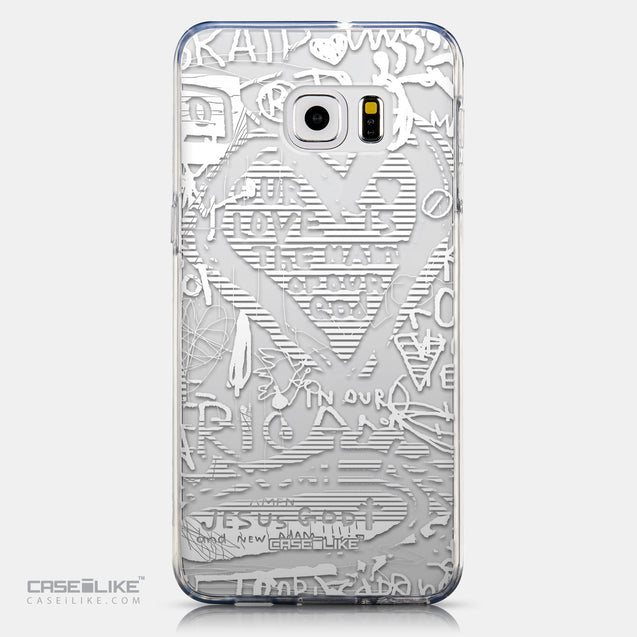 CASEiLIKE Samsung Galaxy S6 Edge Plus back cover Graffiti 2730