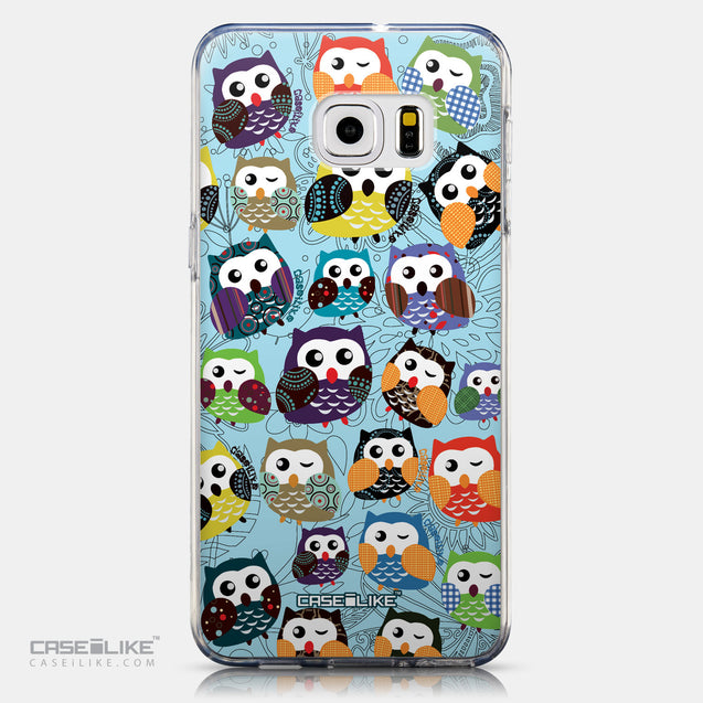 CASEiLIKE Samsung Galaxy S6 Edge Plus back cover Owl Graphic Design 3312