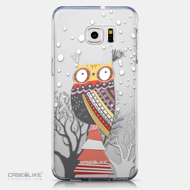 CASEiLIKE Samsung Galaxy S6 Edge Plus back cover Owl Graphic Design 3317