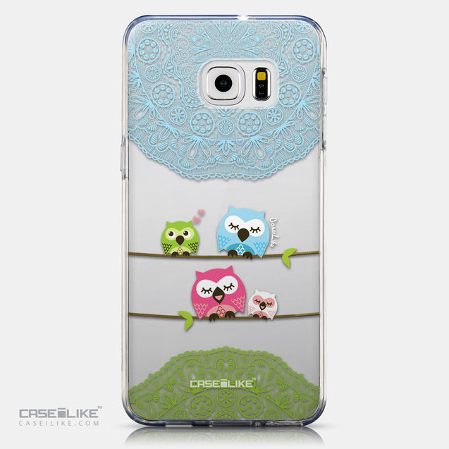 CASEiLIKE Samsung Galaxy S6 Edge Plus back cover Owl Graphic Design 3318