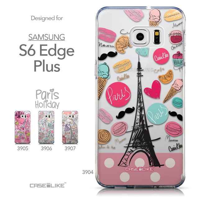 Collection - CASEiLIKE Samsung Galaxy S6 Edge Plus back cover Paris Holiday 3904