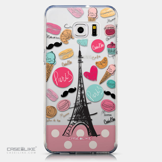 CASEiLIKE Samsung Galaxy S6 Edge Plus back cover Paris Holiday 3904