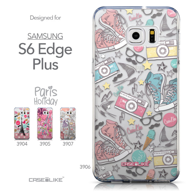 Collection - CASEiLIKE Samsung Galaxy S6 Edge Plus back cover Paris Holiday 3906