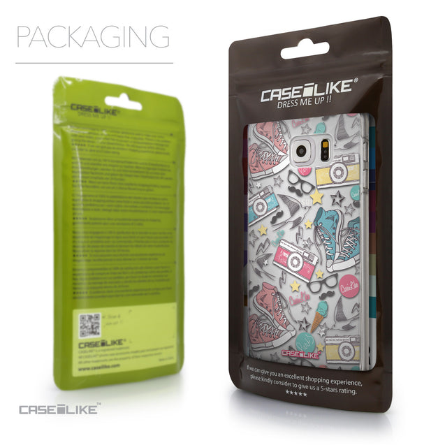 Packaging - CASEiLIKE Samsung Galaxy S6 Edge Plus back cover Paris Holiday 3906