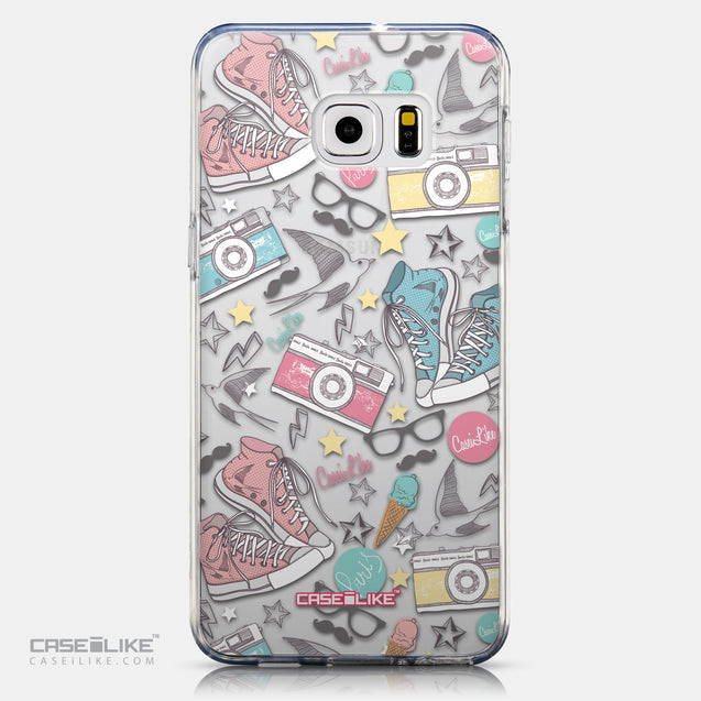 CASEiLIKE Samsung Galaxy S6 Edge Plus back cover Paris Holiday 3906