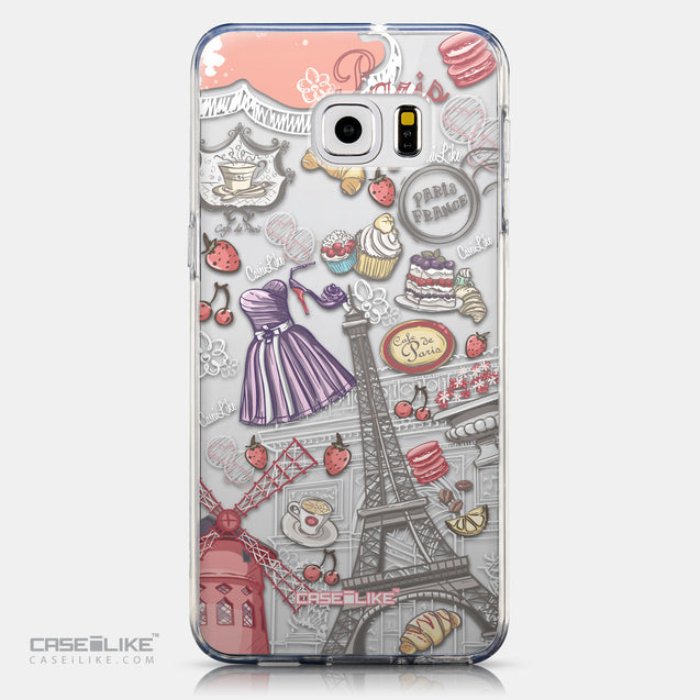 CASEiLIKE Samsung Galaxy S6 Edge Plus back cover Paris Holiday 3907