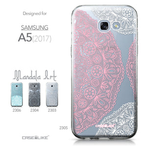 Samsung Galaxy A5 (2017) case Mandala Art 2305 Collection | CASEiLIKE.com
