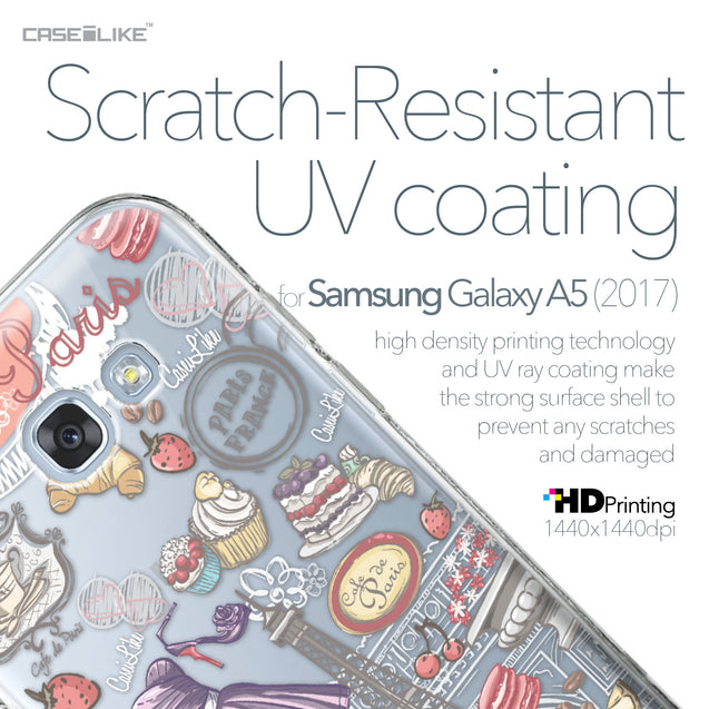 Samsung Galaxy A5 (2017) case Paris Holiday 3907 with UV-Coating Scratch-Resistant Case | CASEiLIKE.com