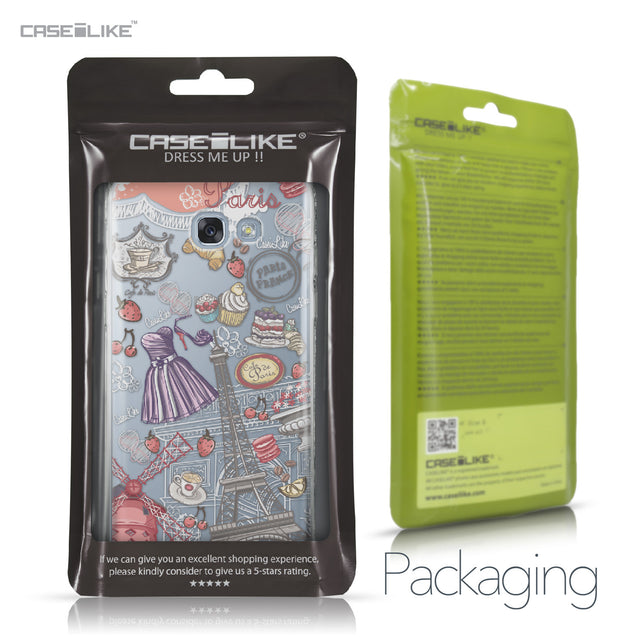 Samsung Galaxy A5 (2017) case Paris Holiday 3907 Retail Packaging | CASEiLIKE.com