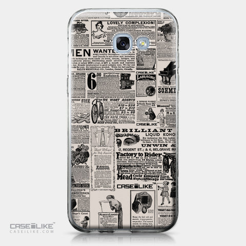 Samsung Galaxy A5 (2017) case Vintage Newspaper Advertising 4818 | CASEiLIKE.com