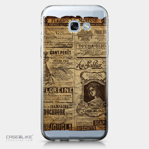 Samsung Galaxy A5 (2017) case Vintage Newspaper Advertising 4819 | CASEiLIKE.com
