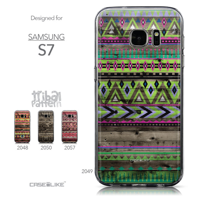 Collection - CASEiLIKE Samsung Galaxy S7 back cover Indian Tribal Theme Pattern 2049