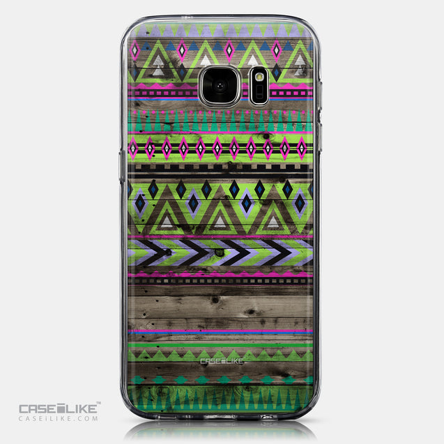 CASEiLIKE Samsung Galaxy S7 back cover Indian Tribal Theme Pattern 2049
