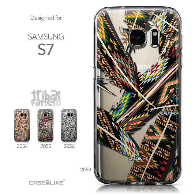 Collection - CASEiLIKE Samsung Galaxy S7 back cover Indian Tribal Theme Pattern 2053