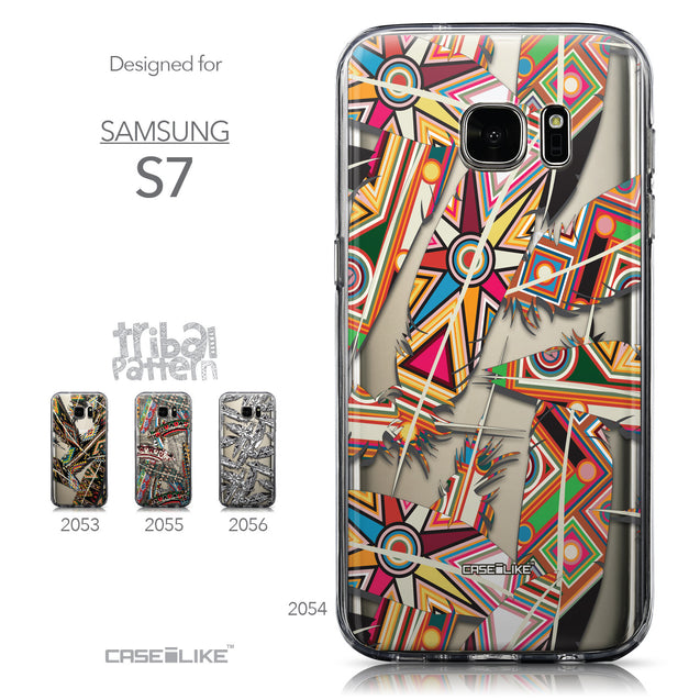 Collection - CASEiLIKE Samsung Galaxy S7 back cover Indian Tribal Theme Pattern 2054