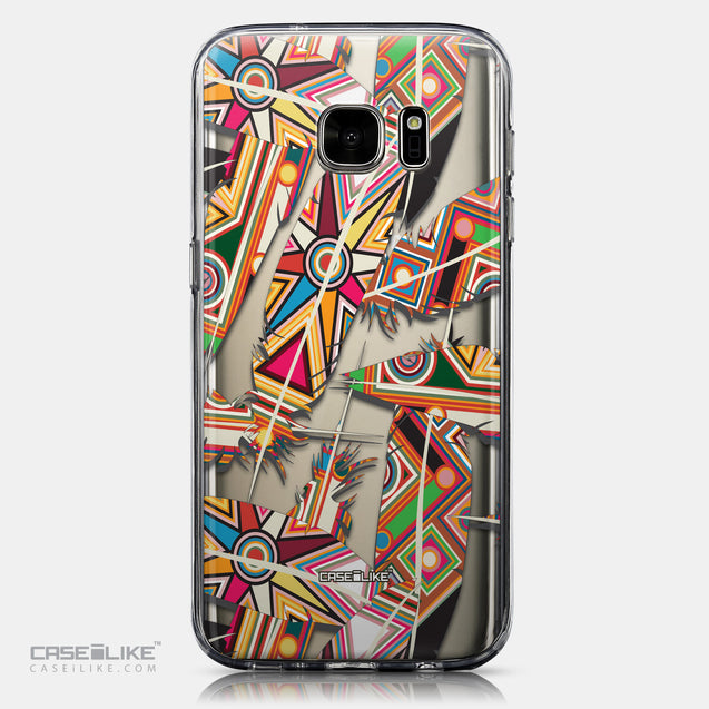 CASEiLIKE Samsung Galaxy S7 back cover Indian Tribal Theme Pattern 2054