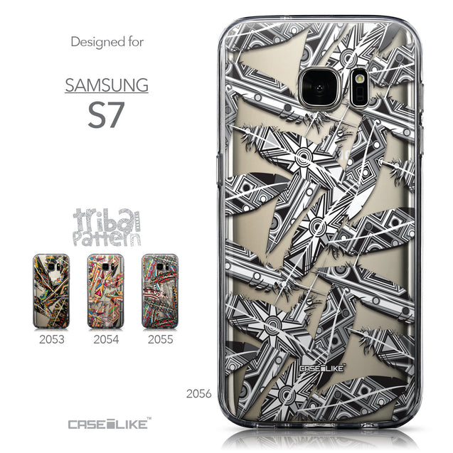 Collection - CASEiLIKE Samsung Galaxy S7 back cover Indian Tribal Theme Pattern 2056
