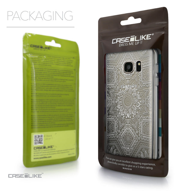 Packaging - CASEiLIKE Samsung Galaxy S7 back cover Indian Line Art 2061