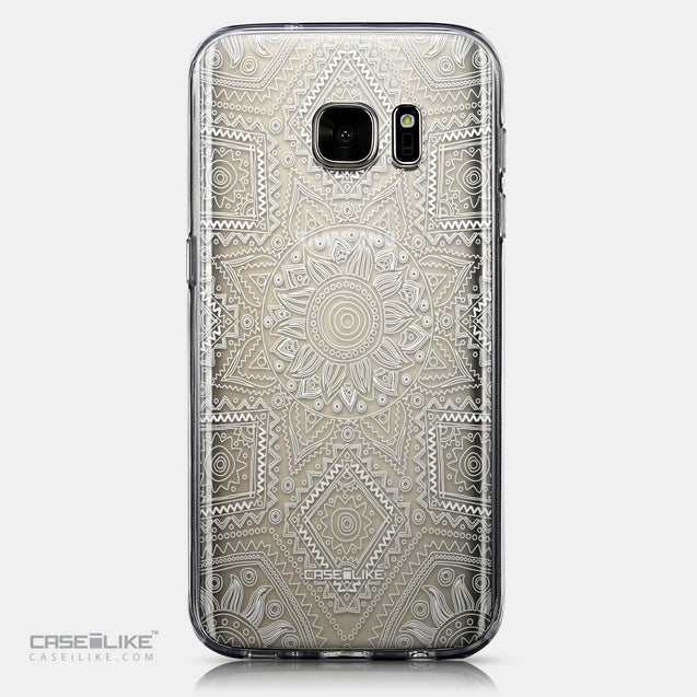 CASEiLIKE Samsung Galaxy S7 back cover Indian Line Art 2061
