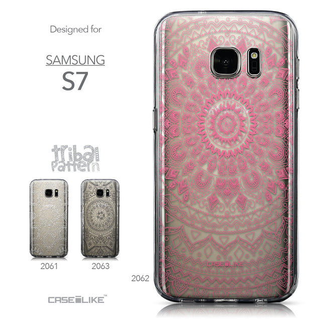 Collection - CASEiLIKE Samsung Galaxy S7 back cover Indian Line Art 2062