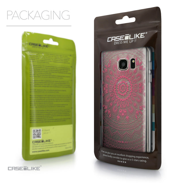 Packaging - CASEiLIKE Samsung Galaxy S7 back cover Indian Line Art 2062