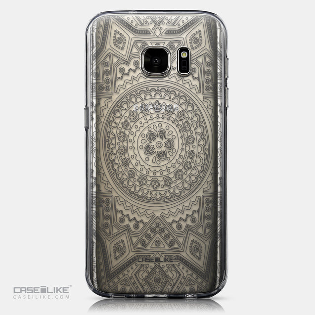 CASEiLIKE Samsung Galaxy S7 back cover Indian Line Art 2063