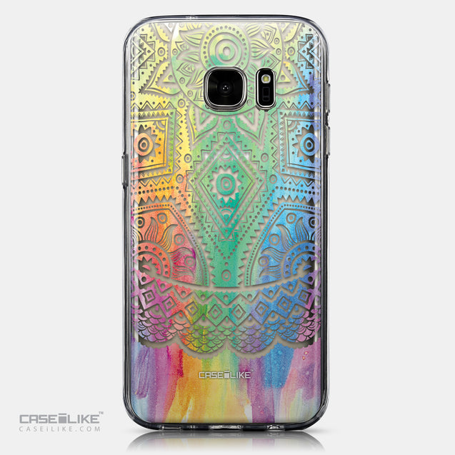CASEiLIKE Samsung Galaxy S7 back cover Indian Line Art 2064