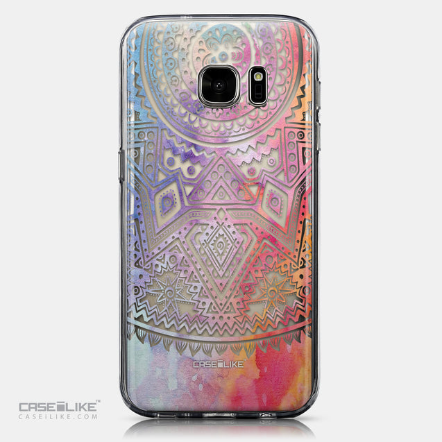 CASEiLIKE Samsung Galaxy S7 back cover Indian Line Art 2065