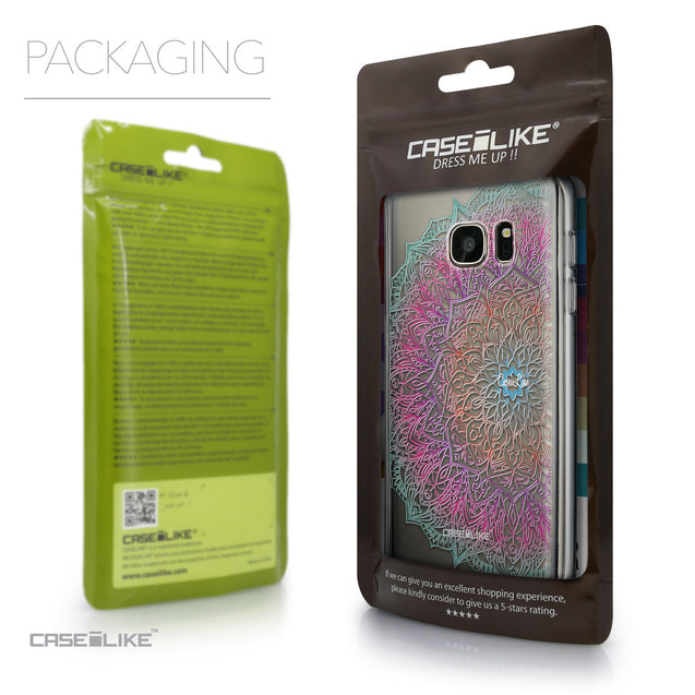 Packaging - CASEiLIKE Samsung Galaxy S7 back cover Mandala Art 2090