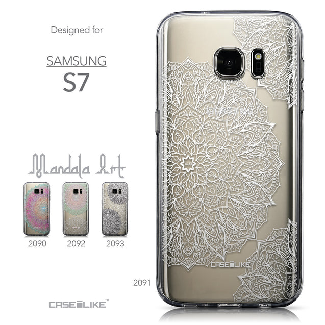 Collection - CASEiLIKE Samsung Galaxy S7 back cover Mandala Art 2091