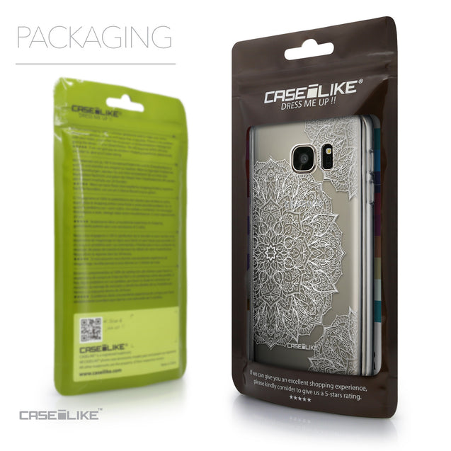 Packaging - CASEiLIKE Samsung Galaxy S7 back cover Mandala Art 2091