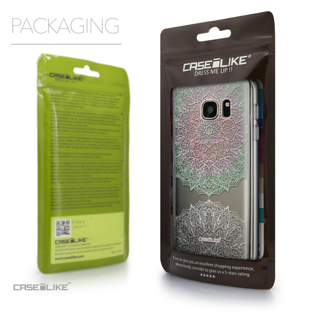 Packaging - CASEiLIKE Samsung Galaxy S7 back cover Mandala Art 2092