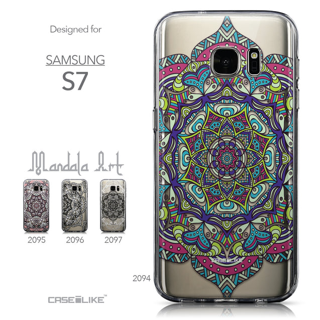 Collection - CASEiLIKE Samsung Galaxy S7 back cover Mandala Art 2094