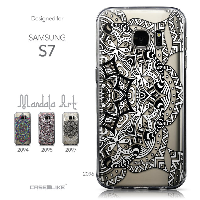 Collection - CASEiLIKE Samsung Galaxy S7 back cover Mandala Art 2096