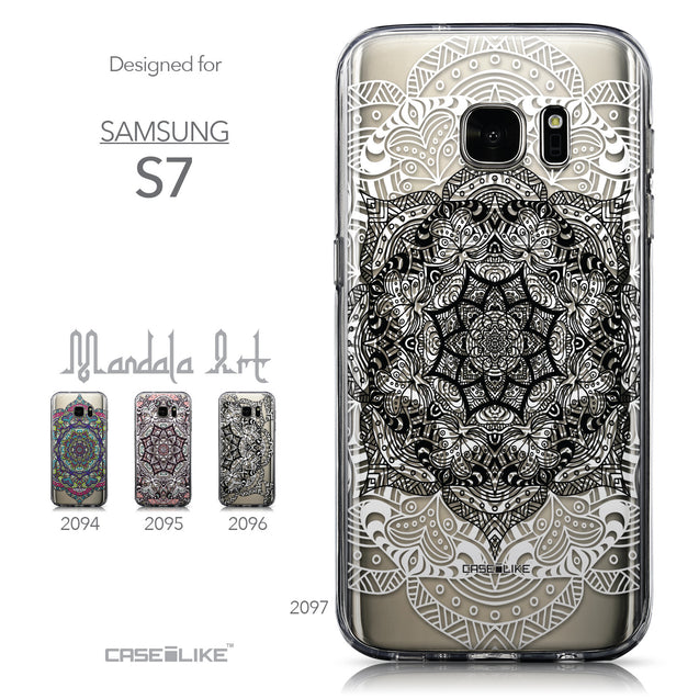 Collection - CASEiLIKE Samsung Galaxy S7 back cover Mandala Art 2097