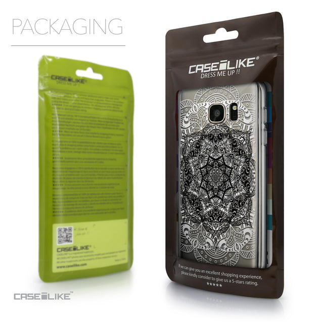 Packaging - CASEiLIKE Samsung Galaxy S7 back cover Mandala Art 2097