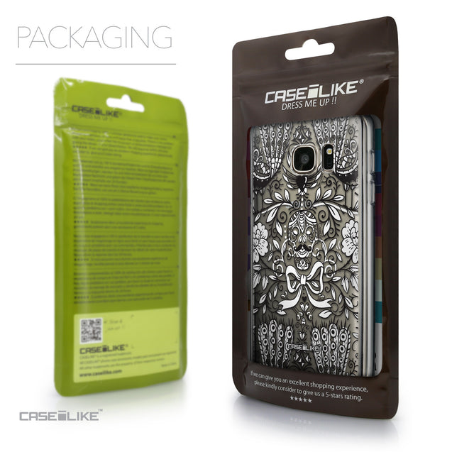 Packaging - CASEiLIKE Samsung Galaxy S7 back cover Roses Ornamental Skulls Peacocks 2227
