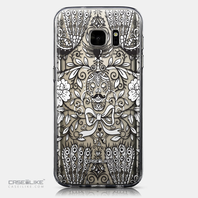 CASEiLIKE Samsung Galaxy S7 back cover Roses Ornamental Skulls Peacocks 2227